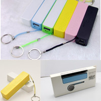 Wholesale Mini Perfume Power Bank Battery Charger mAh Fragrance Portable External Battery Charger for Samsung S3 S5 S4 HTC M7 M8 Phone w Keychain