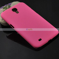 Plastic For Samsung Accept i9200 Quicksand Matte Frosted Drift Sand Hard Plastic Shell Case Cover for Samsung Galaxy Mega 6.3 i9200