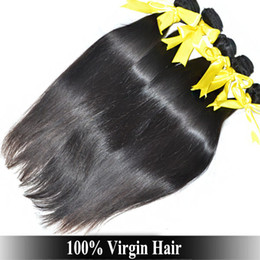 Wholesale A Virgin Queen Peruvian Indian Brazilian Straight Hair OFF bundle cheap peruvian hair Weaving