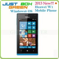 Wholesale 4inch Huawei W1 Dual Core GHz Windows Smart phone GPS WIFI Dual Camera