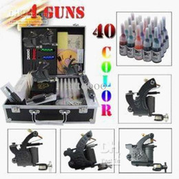 Wholesale Complete Tattoo Kits Tattoo Machine Guns Tattoo Inks Tattoo Needles Tattoo Power Supply Beginner Tattoo Kits Fast Shipping