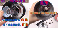 Wholesale Motorcycle scooter modified exhaust pipe straight row of stainless steel exhaust pipe straight back pressure adjustable chimneys