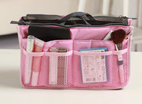 Wholesale Women Travel Insert Handbag Purse Large liner Organizer Bag Storage Bags Amazing many colors