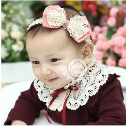 Baby Mesh Flower Headbands Girl Flower For hairbands Children Hair Accessories Cotton Flower Hair Bow Handmade Headbands Fit Autumn Winter