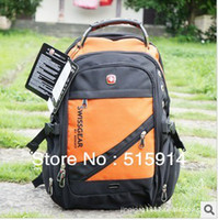 Men Nylon Tie Dye 2013 free shipping Swissgear backpack men the knapsack camping hiking travel backpack tactical military Wholesale Laptop bag