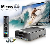 Wholesale Measy X5 D Blu ray Full HD P HDMI USB RTD1186 Android TV Box Network Media Player Newest