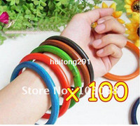 Wholesale Painted Wood Bangle Costume Jewelry Colorful Wooden Bracelet Bangles OF