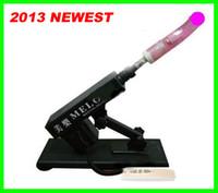 sex machines - 2013 newest Best price adjustable speed sex machine sex machine gun auto sex machine for female
