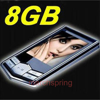 Wholesale Free ship mp3 GB New Slim quot LCD Radio FM Player Free Gift
