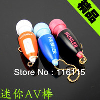 Wholesale 1 cm cm mix color Magic Mini AV Massager waterproof bullet Multi colors Clitoris Mas Bullets Lanyard keychain Vibrator Eggs