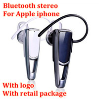 One with two Phones For Apple iPhone  One to two music mini headphone wireless handsfree stereo Bluetooth Headset Universal Ear hook Earphone For iPhone A309 5PCS free shipping