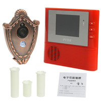 Wholesale Wireless door viewer door interphone Video Door Phone degree night vision doorbell