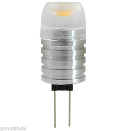 G4 LED Light Bulb 1W Aluminum Body AC DC 12V In Warm White & Cool White