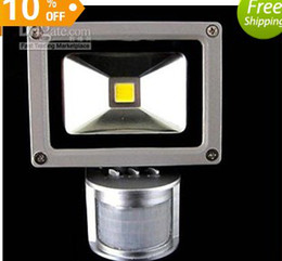 10W PIR Motion detective Sensor LED Floodlight Outdoor LED Flood light Landscape LED Flash Light
