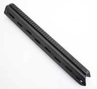 rl - Drss Badger Ordnance Stabilizer Handguard AR15 Rifle Length Long Black RL BK