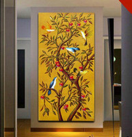 Cheap [Art Style]Distinctive Modern Handcraft oil painting on canvas Wisdom Tree