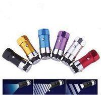 Wholesale Mini Flashlight Torch Car Cigarette Lighter modes Rechargeable mini LED Flashlight Torch Dropshipping