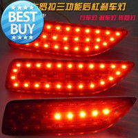 Wholesale Reflector LED Rear Bumper Light lamp Brake Light For Corolla with rear turn signal and warning light for