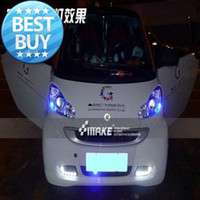LED brabus - LED DRL daytime running light for smart fortwo BRABUS super bright cool modification fast by EMS