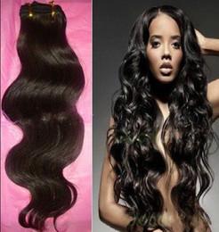 15% выкл Promotion - AAAAA качества 5A Класс! 100% Бразильский Девы волос Уток Extension Объемная волна Remy выдвижения человеческих переплетения