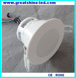 Wholesale remote dmx controler wires connection rgb in1 X3W led down light DC V used for opera houses and grand music halls