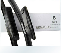 Wholesale Bracketless Wiper Blades Streamlined Design Wiper for Renault Megane Series Windshield Wiper Blades pair