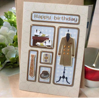big greeting cards - Men birthday card Father s Day greeting card happy father s day patterns mixed big size high quality father s day gift card birthday card