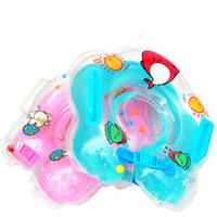 Baby learning to swim   Baby Infant Gear Swimming Aid Float Neck Ring With the bell Inflatable Tubes Security Comfort For Gift
