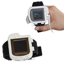 Wholesale CMS I Wrist Pulse Oxygen SPO2 Monitor color OLED Medical Oximeter with External SPO2 sensor probe CE amp FDA approved