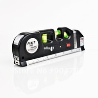 Wholesale New High Quality Laser Level Horizon Vertical Measure Tape FT Aligner