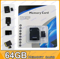 Wholesale 64GB MicroSD TF Card gift for HTC t327 x920e t329 e x515 onex Windows phone from Comcom