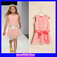 Wholesale Water soluble lace dress girls vest dress strap dress X1211587885 ys