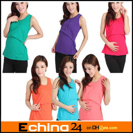 Wholesale Ultralarge elastic maternity and nursing clothing Pregnant women breastfeeding vest