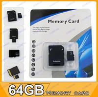 TF / Micro SD Card 64GB 20pcs 64GB Micro SD TF Card +gift for 5D,650D,700D,100D,30D,Mark III,60D,70D,600D,6D,7D,40D,EOS 350D,400D,500D,550D