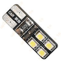 led bulbs for car - 100pcs T10 LED SMD Canbus Error Free Car Tail Turn Bulbs White Light New for hot sale shipping