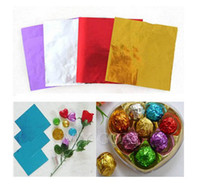 Wholesale 100PCS quot X quot Square Foil Wrappers For Pop Candy Chocolate Sweets Confectionary