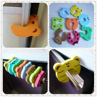 Wholesale 20pcs Baby Animal Cartoon Jammers Stop Door Baby Door Guard Baby Door Stopper Safety Finger Door Stop Animal Baby Stopper
