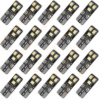 Wholesale 20pcs T10 LED SMD Canbus Error Free Car Tail Turn Bulbs White Light New for good price shipping