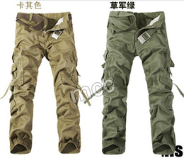 Wholesale 2013 New Men s Cargo Carpenter Long Pants Fashion England Cargo Pants AAA quality Best price Size Colors Drop shipping as a gift