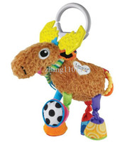 Unisex 0-12 Months Video Games Lamaze deer baby crib toy baby bed hanging educational toys early development plush 10.2""