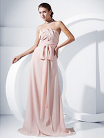 Cheap Reference Images bridesmaid dress Best Strapless Chiffon 2015