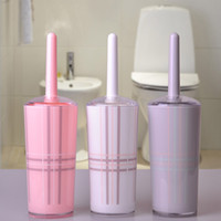 Wholesale Acrylic toilet brush set toilet brush toilet brush bathroom