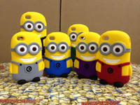 For Apple iPhone Silicone for Apple iphone 5 5s 5c Silicone Despicable Me 2 Minions Soft Case Cover for Apple iphone 4 4s iphone 5 5s 5c galaxy s3 i9300 s4 i9500 Note 2 n7100 Note 3 n9000 10