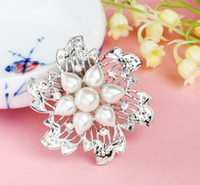 Other Women's Gift Free shipping fashion exquisite crystal pearl brooch wedding dinner will dress accessories brooches wholesale LM-B036