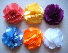Wholesale hot sell Pure silk Headdress flower hair clip Hair Accessories Free shipping 20 pcs lot Mixed colors HA20