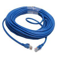 Wholesale F06616 M CAT5E CAT5 RJ45 Ethernet Internet Network Patch Lan Cable Cord Blue M M for Networks WiFi Router