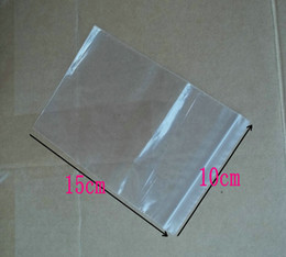Zipper Clear PE Self Seal Plastic Bags Retail package bag Fit For jewels Jewelry pearl Packing Bag