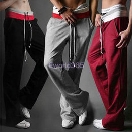 Wholesale New Mens Casual Joggers Jogging Pants Trousers Tracksuit Bottoms