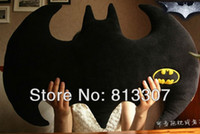 Unisex 0-12 Months Video Games Wholesale The Dark Knight Rises Batman Pillow Animal Cartoon Plush Doll Toys 30'' Christmas Gift Free Shipping