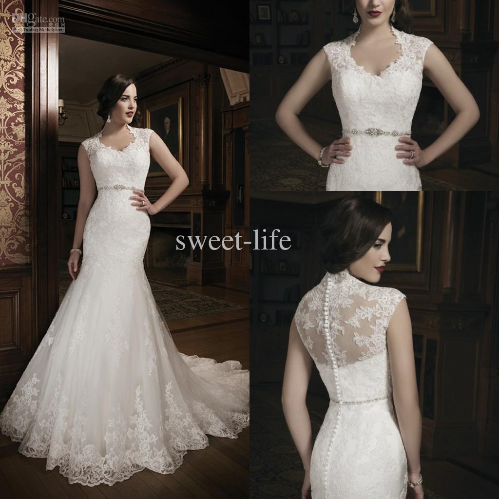 neck mermaid wedding dresses bridal gowns dresses for chapel wedding